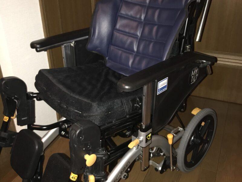 我が家で使用している車椅子