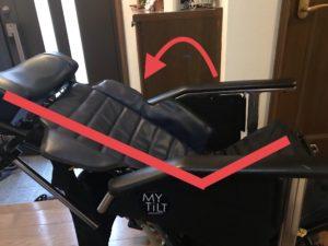 車椅子ティルト機能