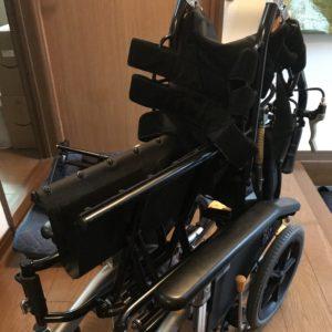 車椅子畳み方手順6