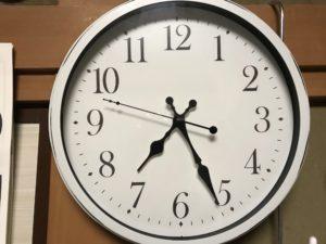 介護部屋の電波時計