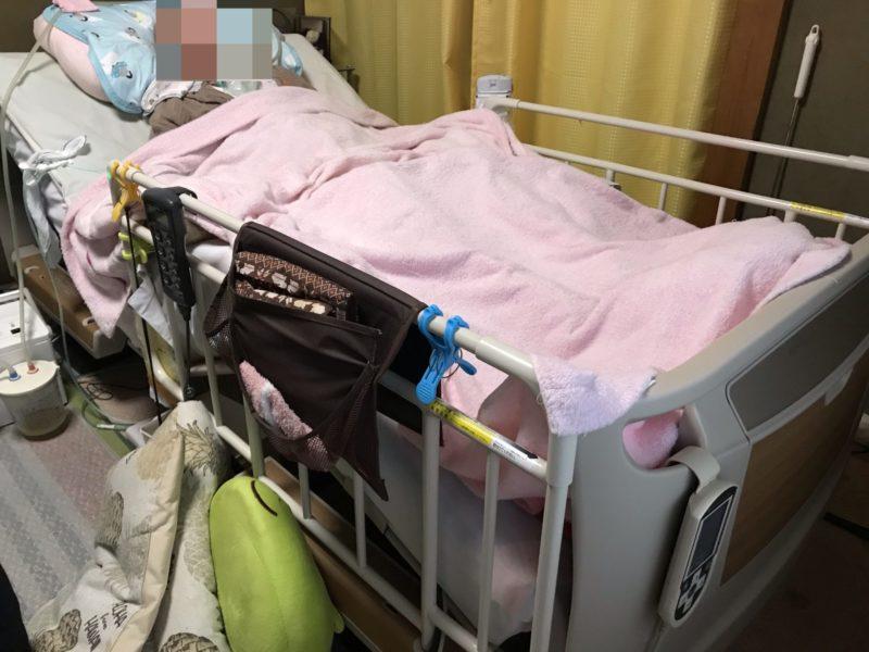 我が家で使用している介護ベッド