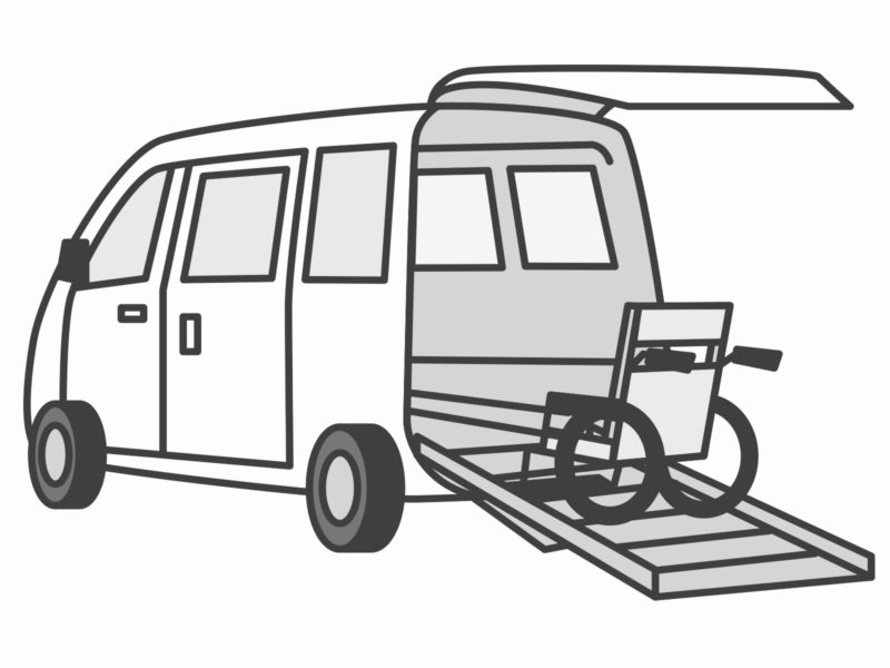 介護タクシーのイメージ画像