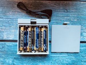 Qtumは単3乾電池4本だけで動作できる
